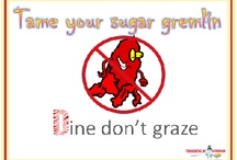 Dine don't graze / The D in the Candy Floss system is about sitting down to three square meals, not grazing throughout the day.