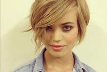 Longer pixie cut