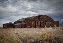 Interesting Desert Locations / Interesting desert locations such as planes cemeteries, abandoned hangars, raves, desert ruins, etc
