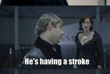 Sherlock / Because who doesn't love a snarky consulting detective and his partner?