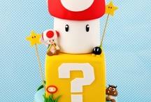 Mario b-day party