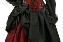 исторические платья, костюмы