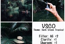 VSCO Filters Formula / i use these kind of way to filtering my pictures