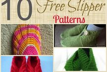 10 free slippers patterns