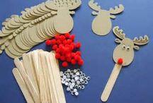 Χριστούγεννιατικες κατασκευές