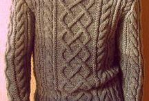 Pletené svetry pánské