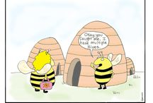 Honey bee comics