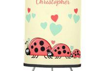 Zazzle ~ Ladybirds Home/Nursery Decor & Gifts