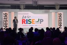 Nestle We Rise Up / LED Screen, Sound and Lighting