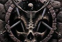 Evil Music Art / Dark album art that impresses or disturbs me.