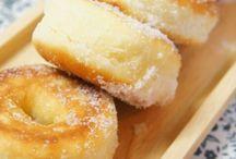 ドーナツ、パンケーキ