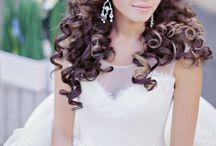 Wedding hair moodboard