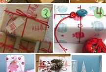Gift Wrap Ideas  / by Sandee Hodapp