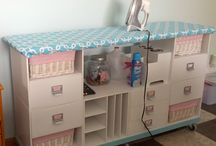 Dreaming sewing room