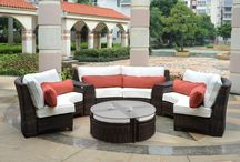 Outdoor Paradise / Let Ross Furniture create your very own outdoor paradise!