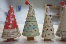 Weihnachten keramik
