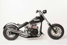 Little BadAss Minichopper, Photo Shoot / Stock Bike Photo Shoot
