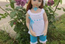 Poupées Maru and Friends / Mes créations au crochet pour les poupées Götz : Patrons et tenues disponibles dans ma boutique