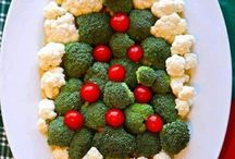 Comidas de Natal / Comidas e apresentações para o Natal