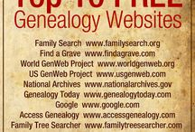 Genealogy / by Janet at Ozarks Livin'