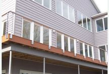 Watkins Glen, New York / With an impressive view of Seneca Lake our Tokyo Style railing really maximizes the view.