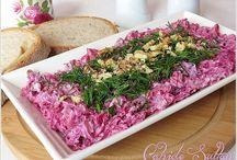 salata meze turşular