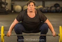 Olympian Sarah Robles for 360 Stretch Jeans / Plus Size 22, 315-pound 2016 Olympic 75kg+ Weightlifter For 360 Stretch Plus Size Jeans