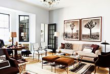 Living Rooms / Beautiful rooms that inspire conversation with friends and family.
