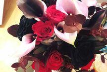 buchete cale cu trandafiri