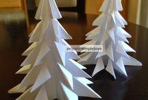 xmas tree diy / xmas tree craft diy