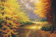 landschapschildere / schilderen