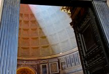 Pantheon in Rome / It seems I am unable to pass by the pantheon in Rome without taking a picture of it or of some angle of it, day or night. Here are some of my faves!