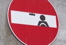 Don't / Street Art. Clet