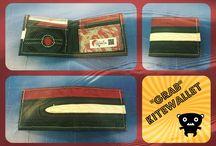 """""""GRAB"""" - Kitewallet / Portafoglio classico con porta-tessere orizzontali, e portamonete incorporato. Sottilissimo e leggerissimo."""