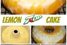 Лимоные торты