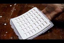 minyatür kremit kalıpları