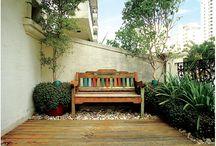 banco de jardim