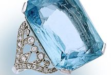 Aquamarine Jewellery / My favorite gemstone!