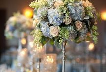 Tall wedding centerpieces are this year's favorite at Bloomers Flower and gift shop
