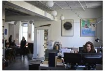 Inside The Paris Review Office / A peek at an average day on 544 West Twenty-Seventh Street.