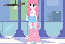 Pink fluffi unicorn