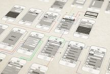 wireframe design / wireframe design