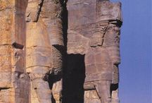 Anciennitet Iran, Persepolis, Art, Sculptures