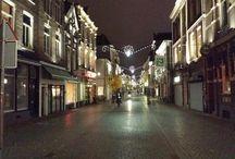 Nijmegen / Nijmegen in de voor avond