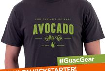 #GuacGear - Gear & Goods For Guacamole & Avocado Lovers / Fresh gear and goods for those that love guacamole and everything avocado. #GuacGear by Avocado Shirt Co. on AvocadoShirtCo.com, plus other avocado goods we love from around the WWW.