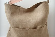 Leather strap bags