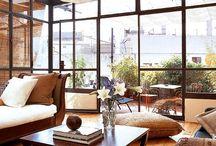 Terrazas acristaladas / Decoración de terrazas acristaladas