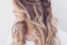 Bridal Shoot Hair Ideas