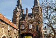 Mooie Stadspoorten in Nederland / Ontdek de vele stadspoorten van Nederland  al deze poorten zijn gezien en bewonderd door stedentripinNederland.nl