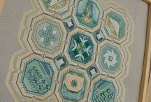 Embroidery: Designers and patterns / Embroidery pins which from are published patterns or kits.
